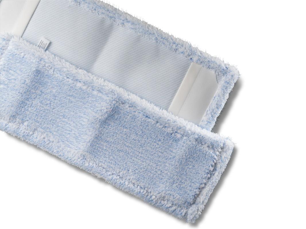 Microfasermopp mit blauen Stacheln 40 cm