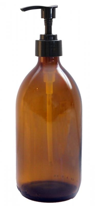 bactocare Glasflasche mit Seifenspender