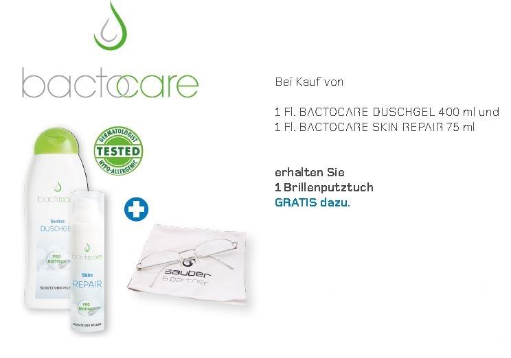 STARTER-SET AKTION    BACTOCARE Shower Gel & BACTOCARE Skin Repair 75 ml