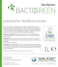 Bactogreen probiotischer Oberflächenreiniger 1L Hochkonzentriert