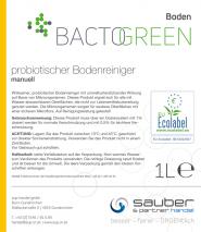 Bactogreen probiotischer Bodenreiniger manuell 1L Hochkonzentriert
