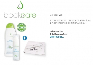 STARTER-SET AKTION    BACTOCARE Shower Gel & BACTOCARE Skin Repair 75 ml