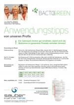 Bactogreen probiotischer Sanitärreiniger 1L Hochkonzentriert